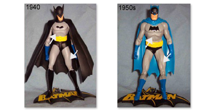 Early Batman action figures