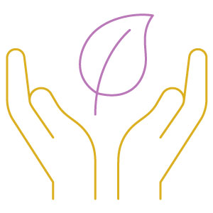 open hands icon | unhealthy dependency
