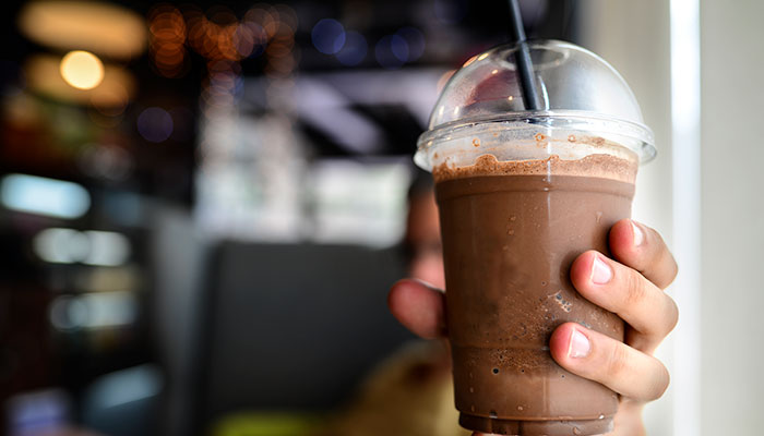 cocoa smoothie drink