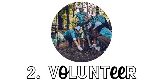 2. Volunteer