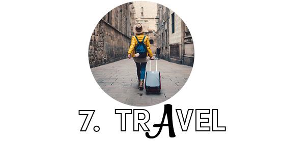 7. Travel
