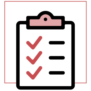 check list icon | how to be less insecure