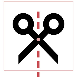 scissors icon   how to be less insecure