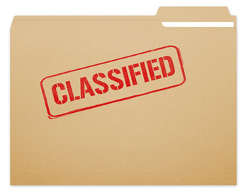 classified folder
