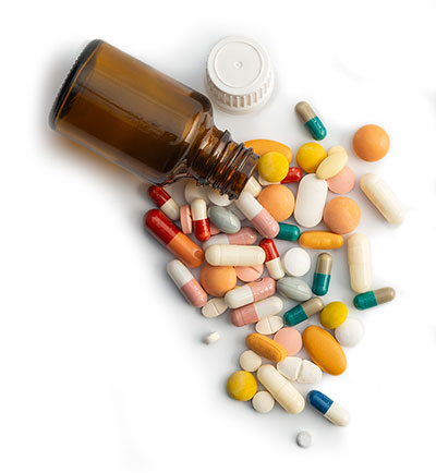bottle of pills | are supplements necessary