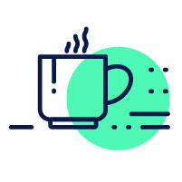 tea cup icon | how to get back on track after a bad semester