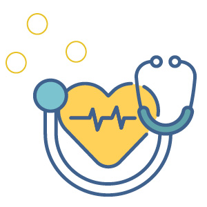 heart health icon | safety of covid vaccine