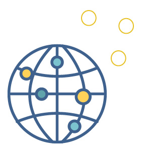 globe icon | safety of covid vaccine