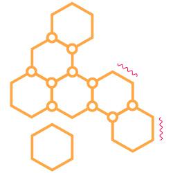 science icon molecules