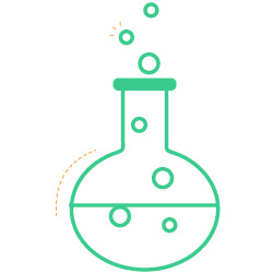 science icon beaker