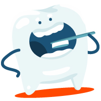 tooth character   vaping and oral health