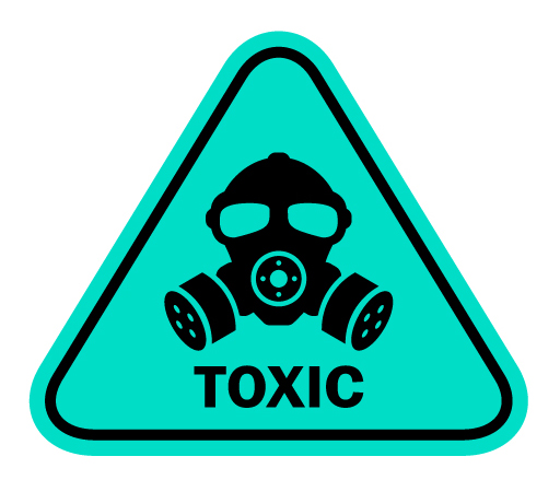toxic sign   vaping and oral health