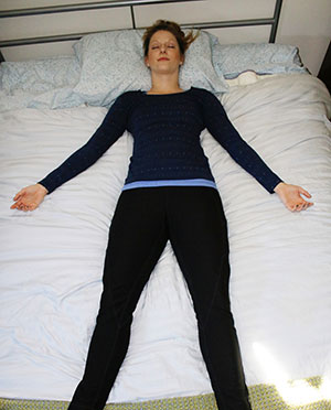 Breathing pose