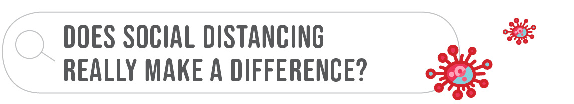 Does social distancing really make a difference?