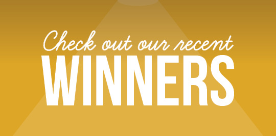 Check out our recent contest winners