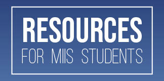 Resources for MIIS Students