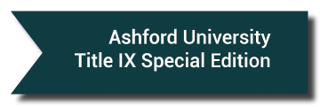Ashford University Title IX Special Edition