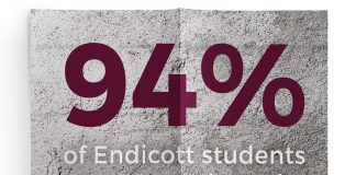 94% of Endicott students make life-saving decisions