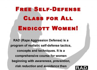 Classes are November 6th, 7th, 13th and 14th from 6 - 9pm Participants should plan to attend all classes to complete the course. Course will be taught by Endicott College Public Safety officers and is open to all female students, faculty and staff. Email Lt. Erickson (jerickso@endicott.edu) to sign up