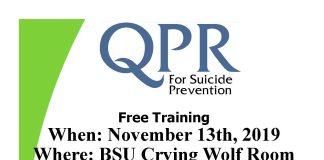 Suicide Prevention Training QPR