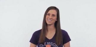 female clemson student