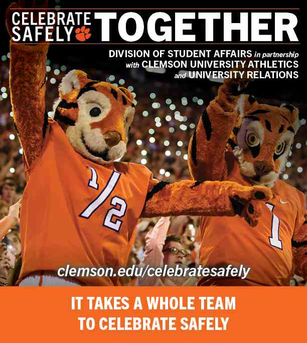 Celebrate Safely Together –It takes a whole team to celebrate safely