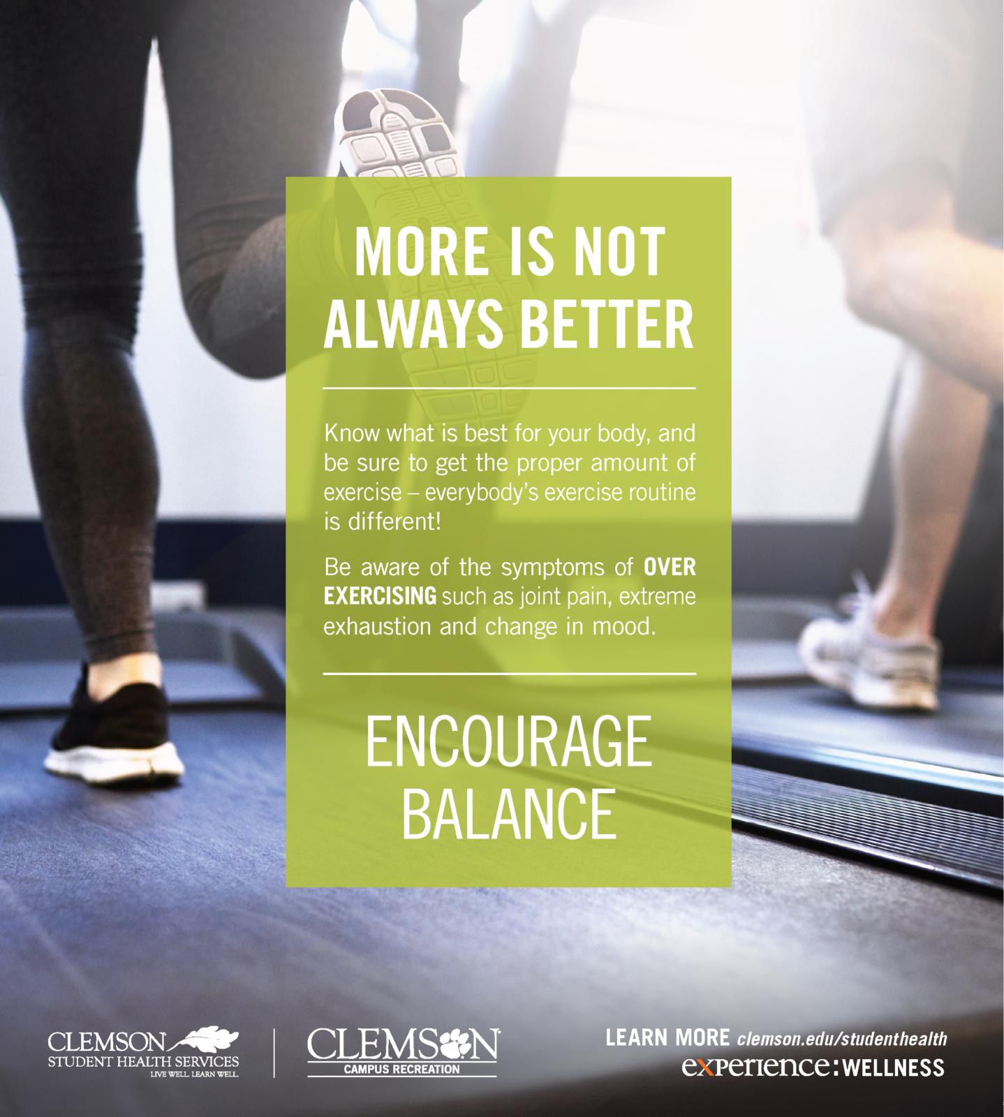Strive for Balance