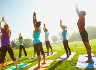 Outdoor Yoga on Nov. 7!