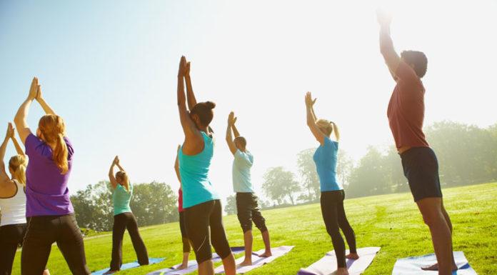 Outdoor Yoga on Nov. 7!