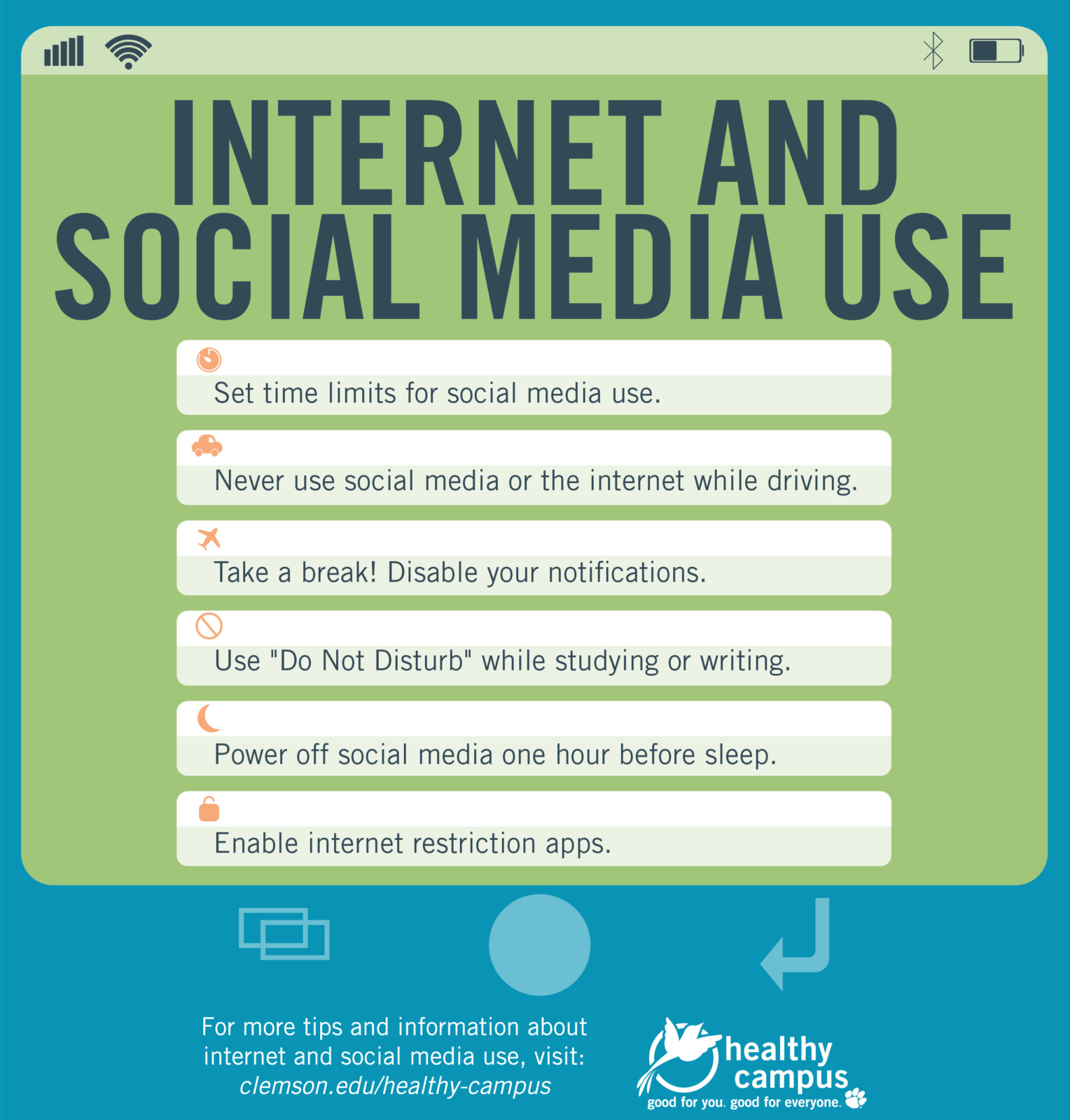 Internet and Social Media Use