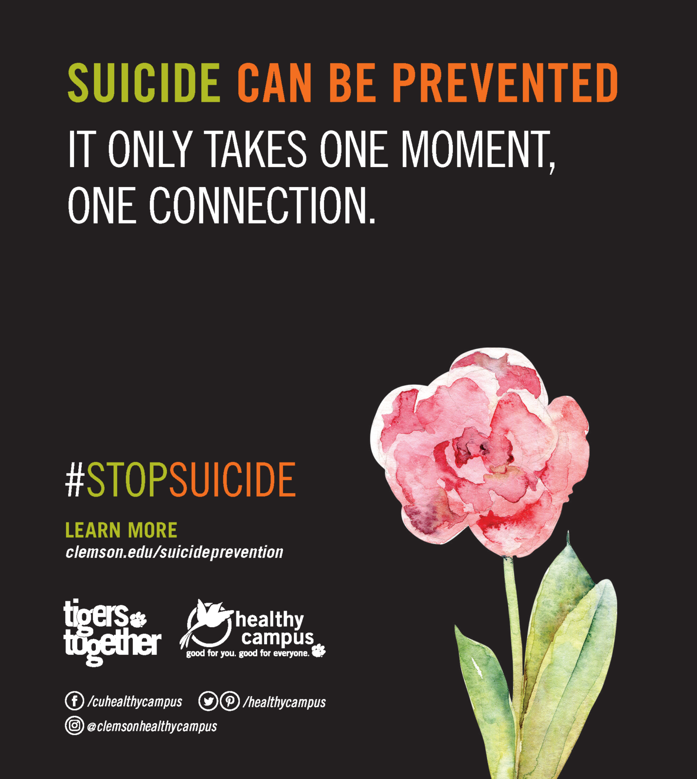 Suicide Can Be Prevented
