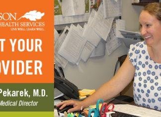 Meet Your Provider –Dr. Lesslie Pekarek,