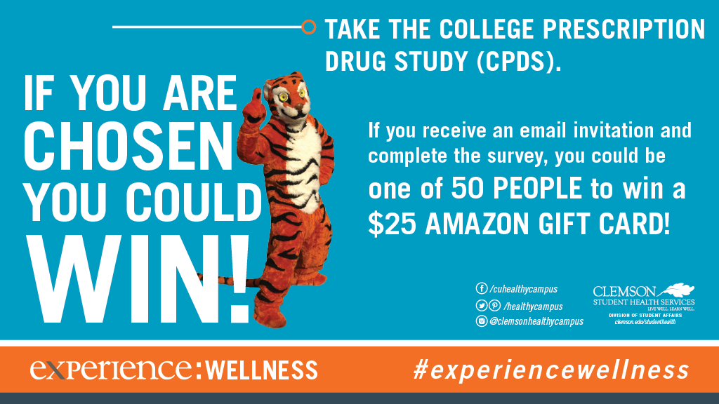 Chance to WIN a $25 Amazon Gift Card! - Clemson University