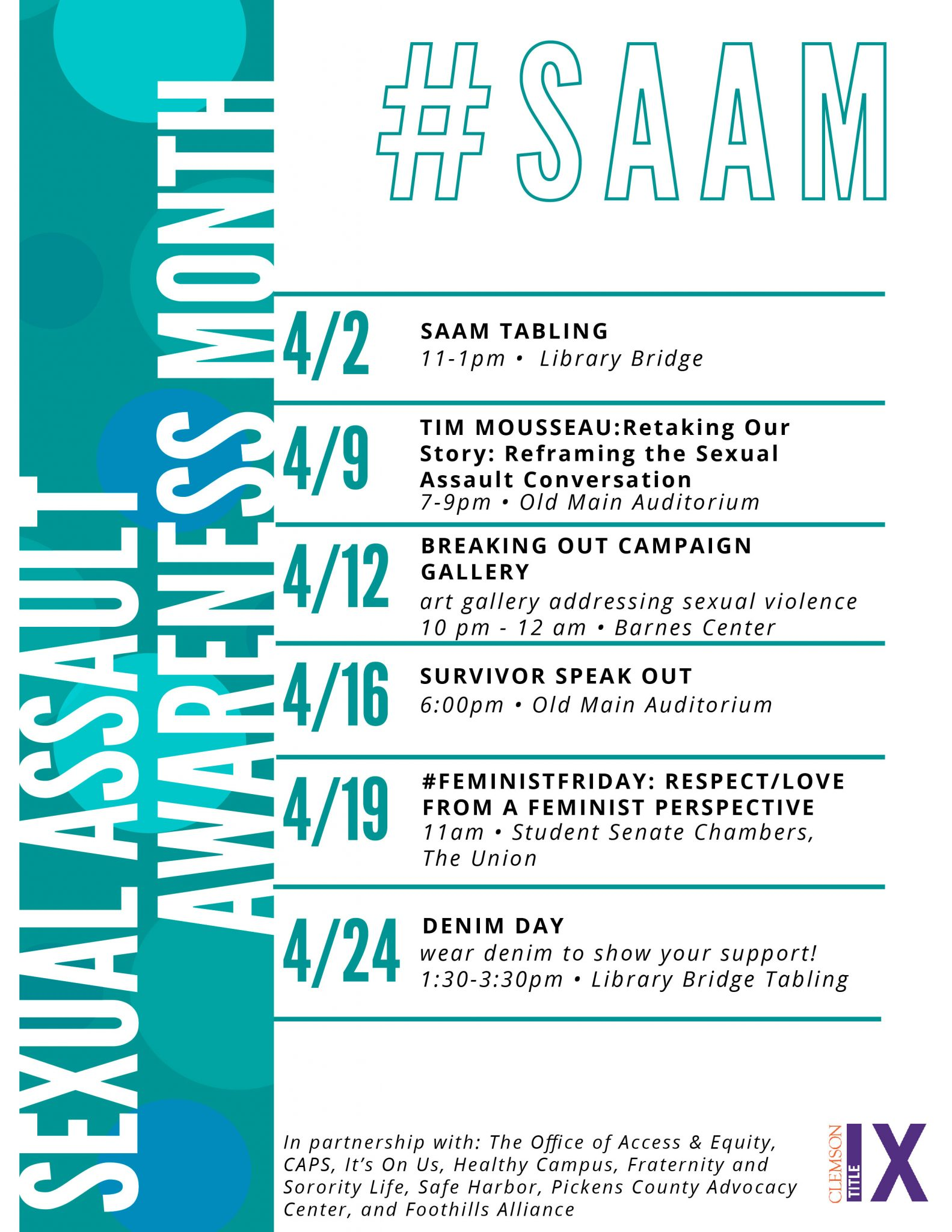 SAAM Events