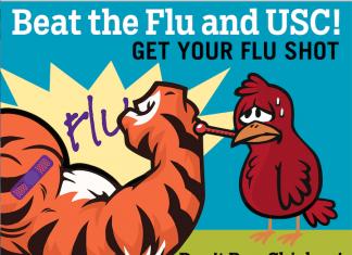 Beat flu and USC