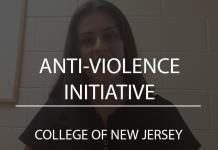Anti-Violence Initiative TCNJ