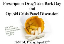 Prescription Drug Take-Back Day and Opioid Crisis Panel Discussion