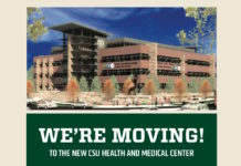 WE'RE MOVING! TO THE NEW CSU HEALTH AND MEDICAL CENTER CSU Health Network will be CLOSED for all services from Friday, June 16th through Friday, June 23rd. We will reopen on Monday, June 26th at the corner of College Ave. and Prospect Rd. (151 W. Lake St.).