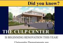 Culp Center Offices are Moving!