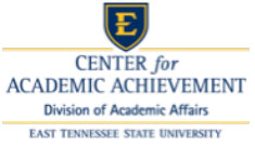 Center for Academic Achievement Logo