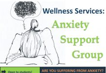Wellness Services: Anxiety Support Group