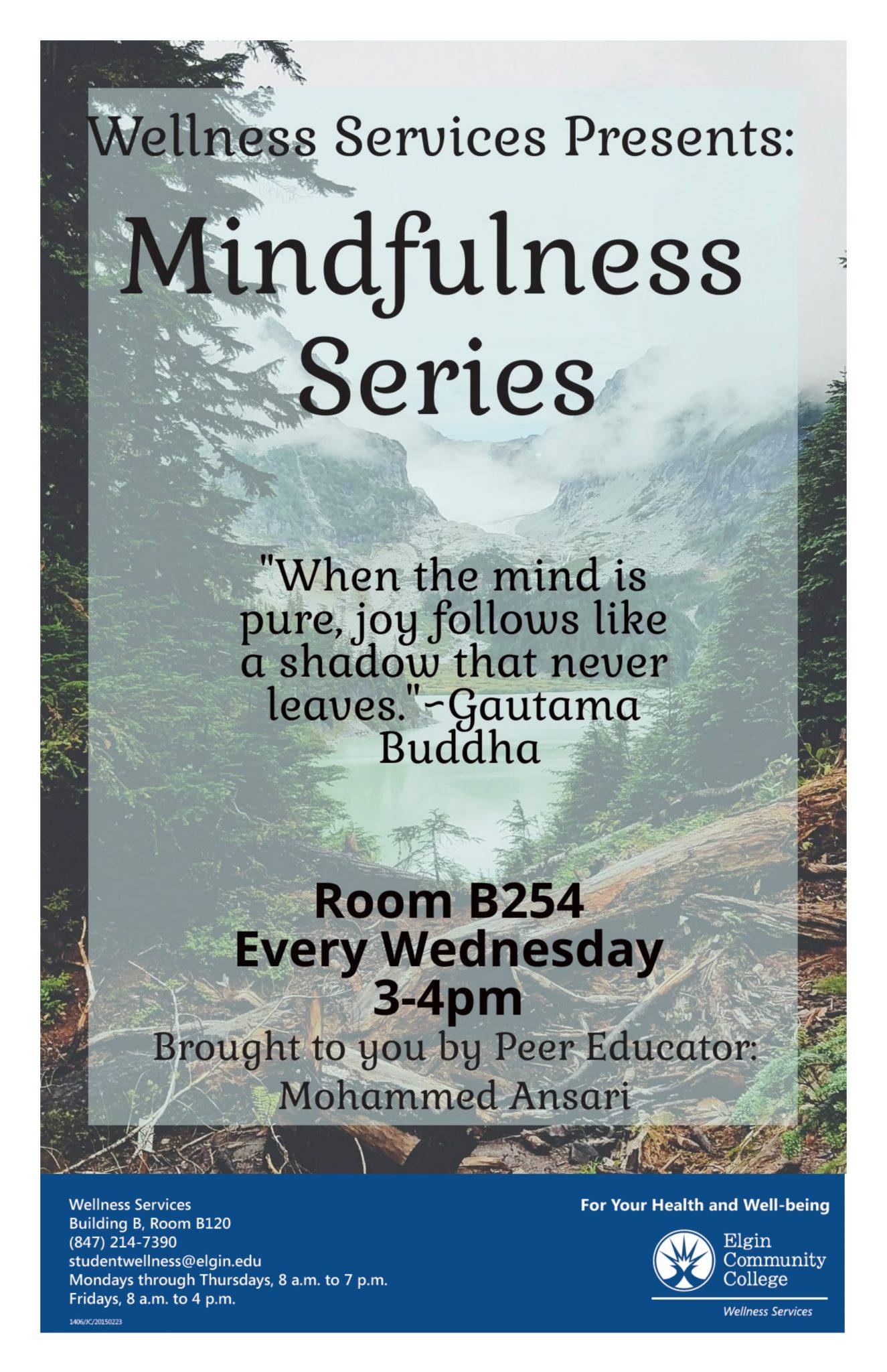 FREE Mindfulness Sessions