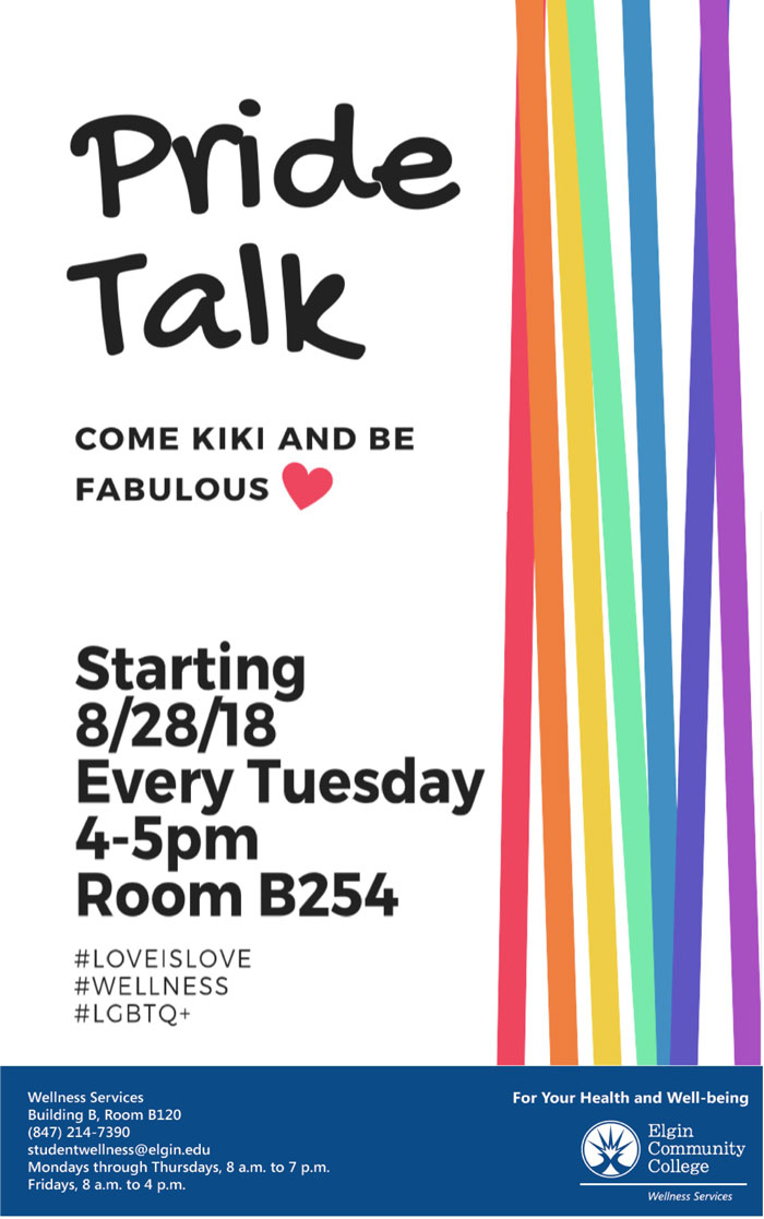 Pride Talk Support Group