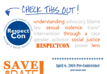 Save the Date RespectCon April 7, 2018