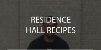 Residence Hall Recipes