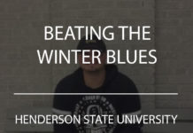 beating the winter blues henderson state university