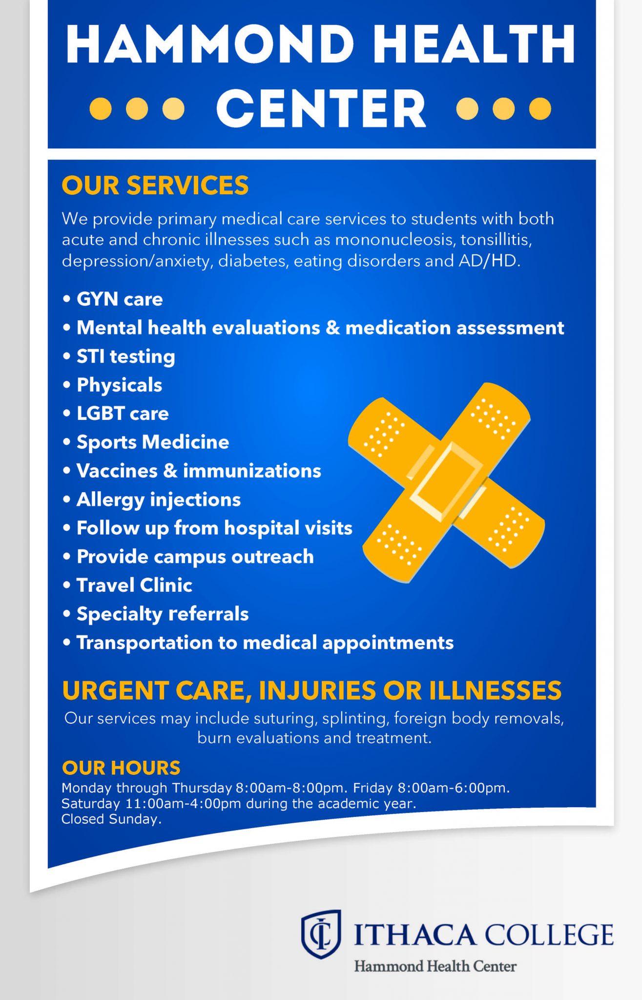 Health Center Services