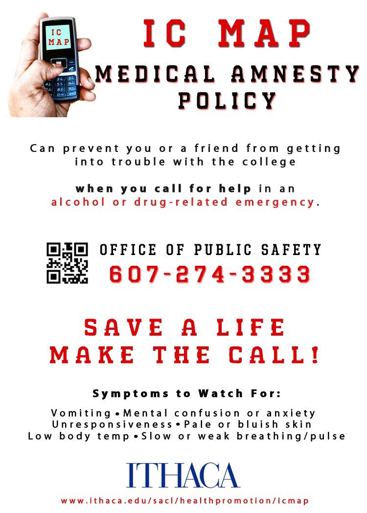 medical amnesty policy