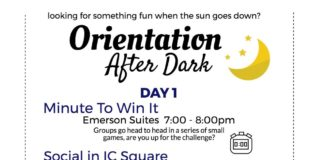 Orientation After Dark