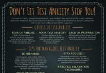 Dealing with test Anxiety